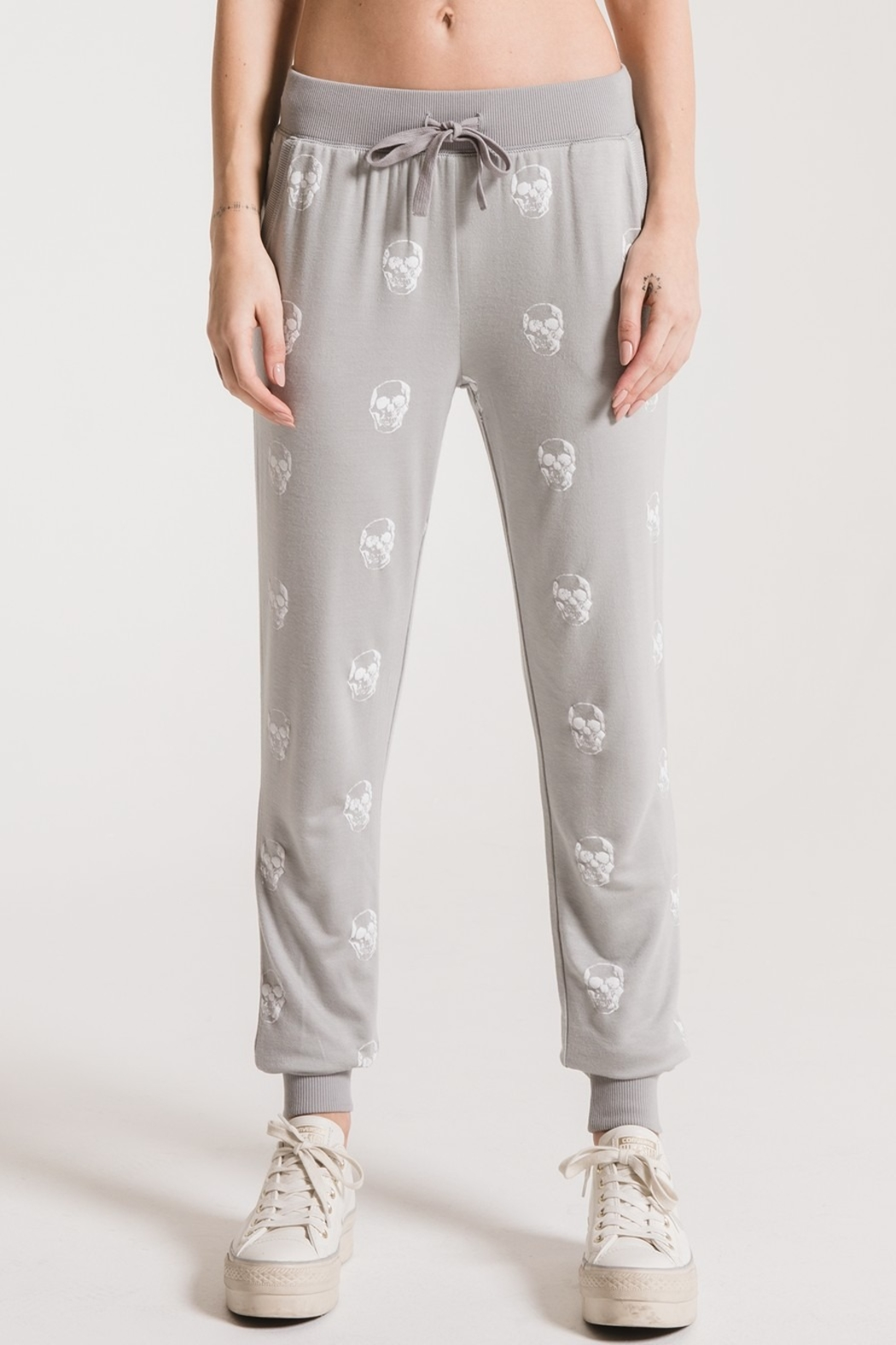 z supply Skull Jogger Pant - Front Cropped Image