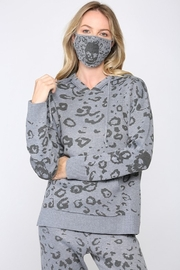 Fate Inc. Skull Knitted Hooded Sweater with Matching Face Mask - Product Mini Image