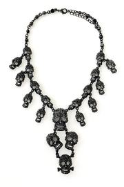 Scarborough Fair Skull Necklace/earrings Set - Product Mini Image