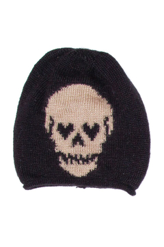 Shoptiques Product: Skull Roll Beanie