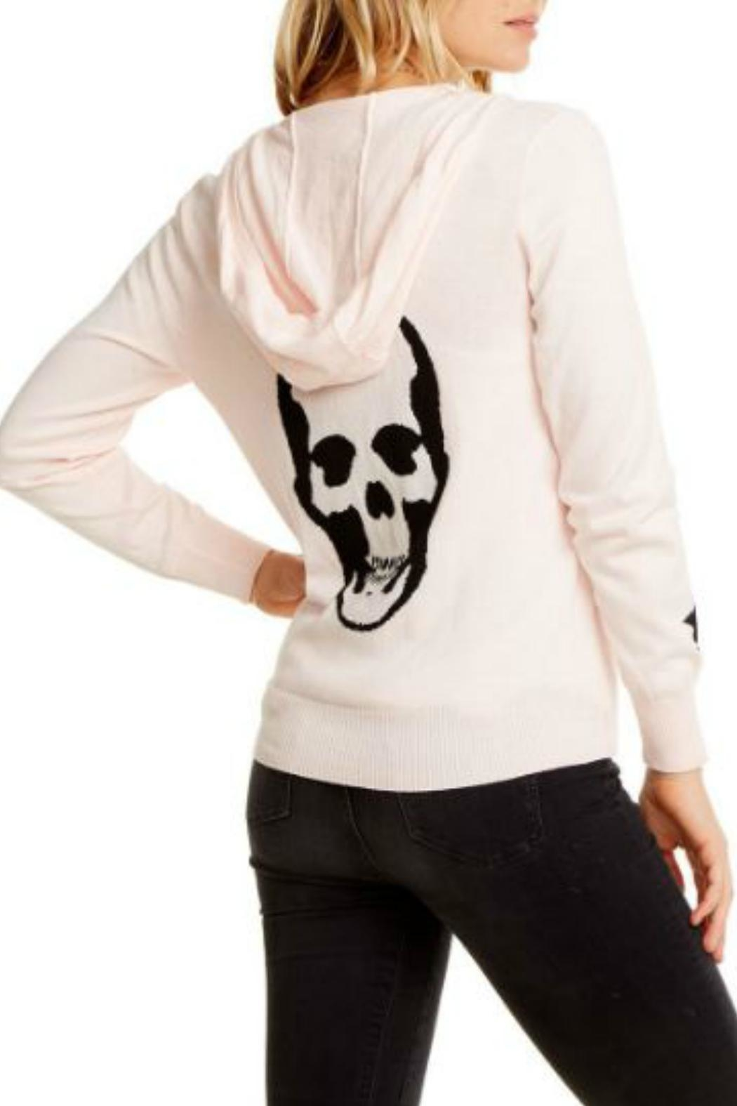 Chaser Skull Star Zip-Up - Front Full Image