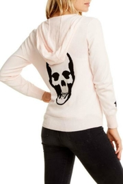 Chaser Skull Star Zip-Up - Front full body