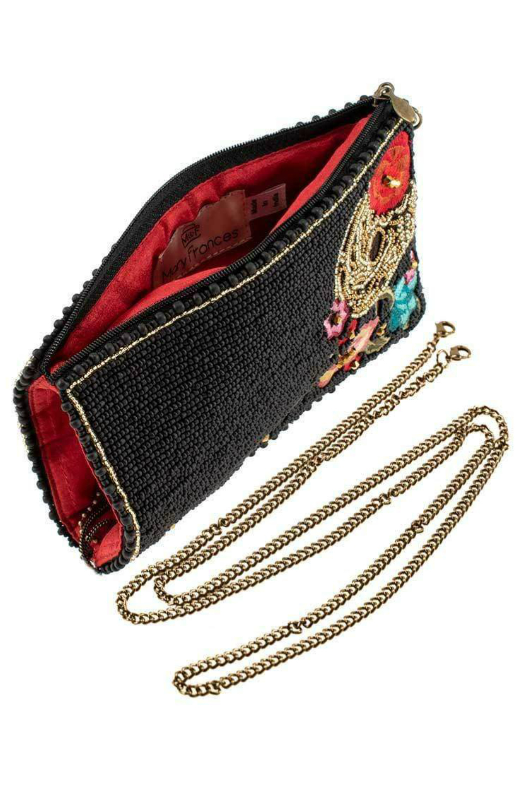 Mary Frances Skull Tattoo Cellphone Bag - Side Cropped Image