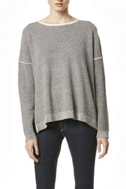 Skull Cashmere Absinthe Grey Sweater - Front cropped