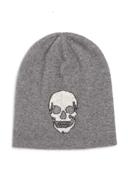 Skull Cashmere Birdman Grey Hat - Product Mini Image