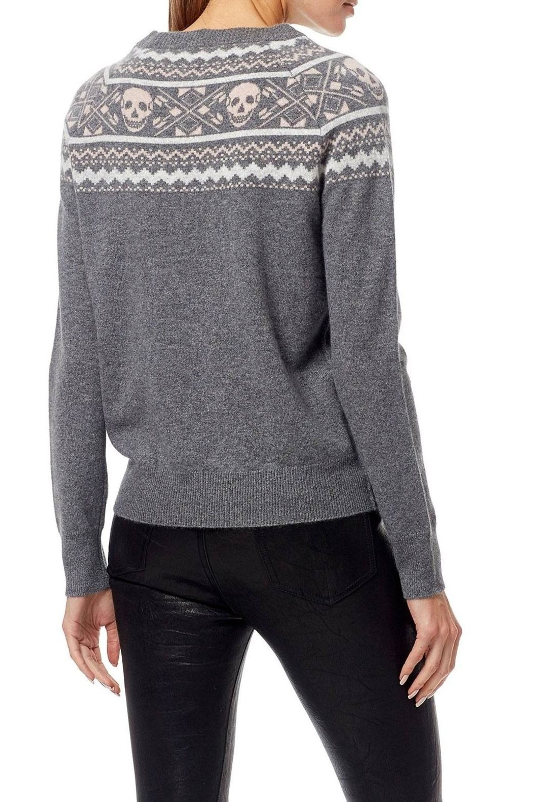 Skull Cashmere Cashmere Miley Sweater - Side Cropped Image