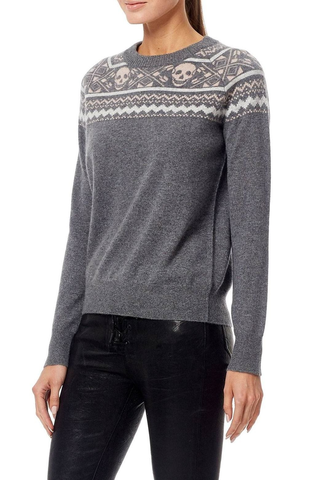 Skull Cashmere Cashmere Miley Sweater - Front Full Image