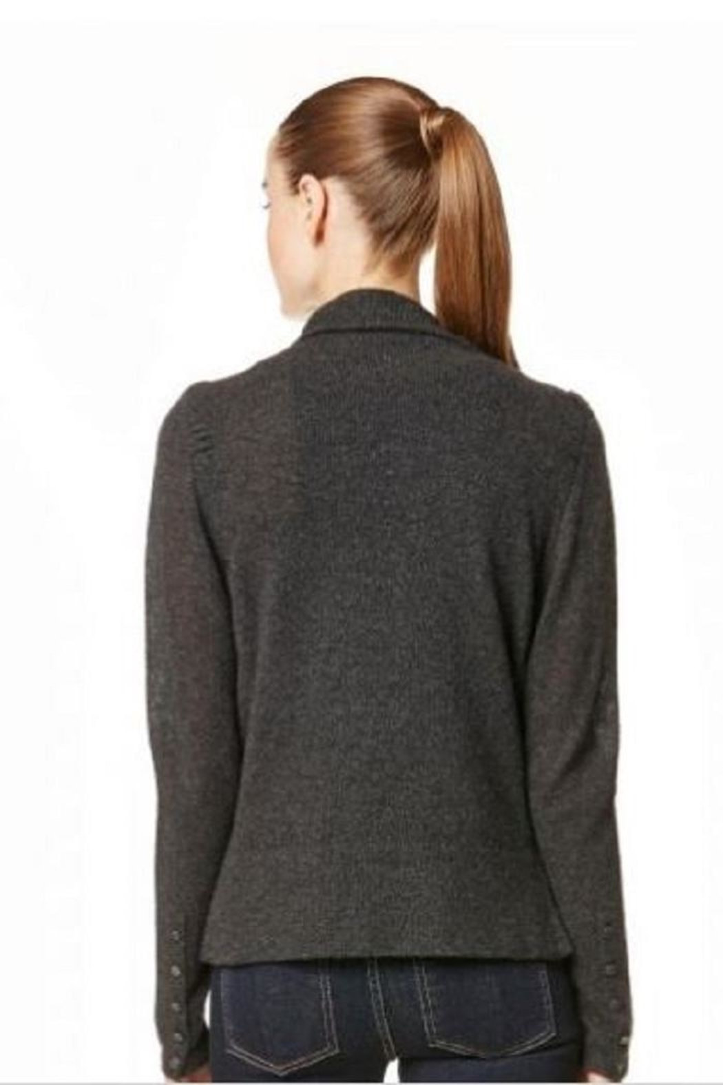 Skull Cashmere Clove Sweater - Front Full Image