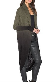 Skull Cashmere Cocoon Loden Jacket - Side cropped