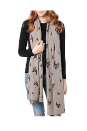 Skull Cashmere Dexter Skull Scarf - Product Mini Image