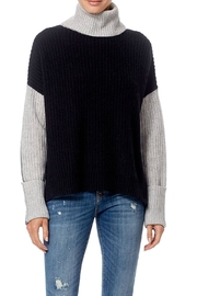 Skull Cashmere Dree Color Block Sweater - Product Mini Image