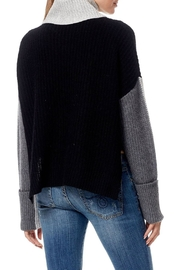 Skull Cashmere Dree Color Block Sweater - Side cropped
