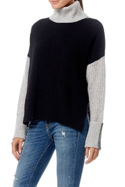 Skull Cashmere Dree Color Block Sweater - Front full body