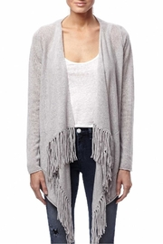 Skull Cashmere Jack Fringe Sweater - Product Mini Image