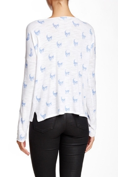 Skull Cashmere Jack Printed Sweater - Alternate List Image