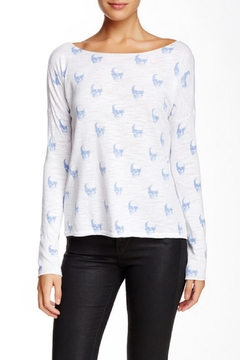 Skull Cashmere Jack Printed Sweater - Product List Image