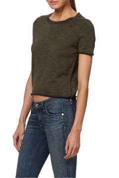 Skull Cashmere Kala Crop Sweater - Product List Image