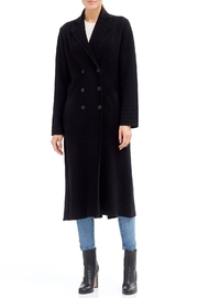 Skull Cashmere Lera Long Peacoat - Product Mini Image