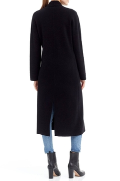 Skull Cashmere Lera Long Peacoat - Alternate List Image