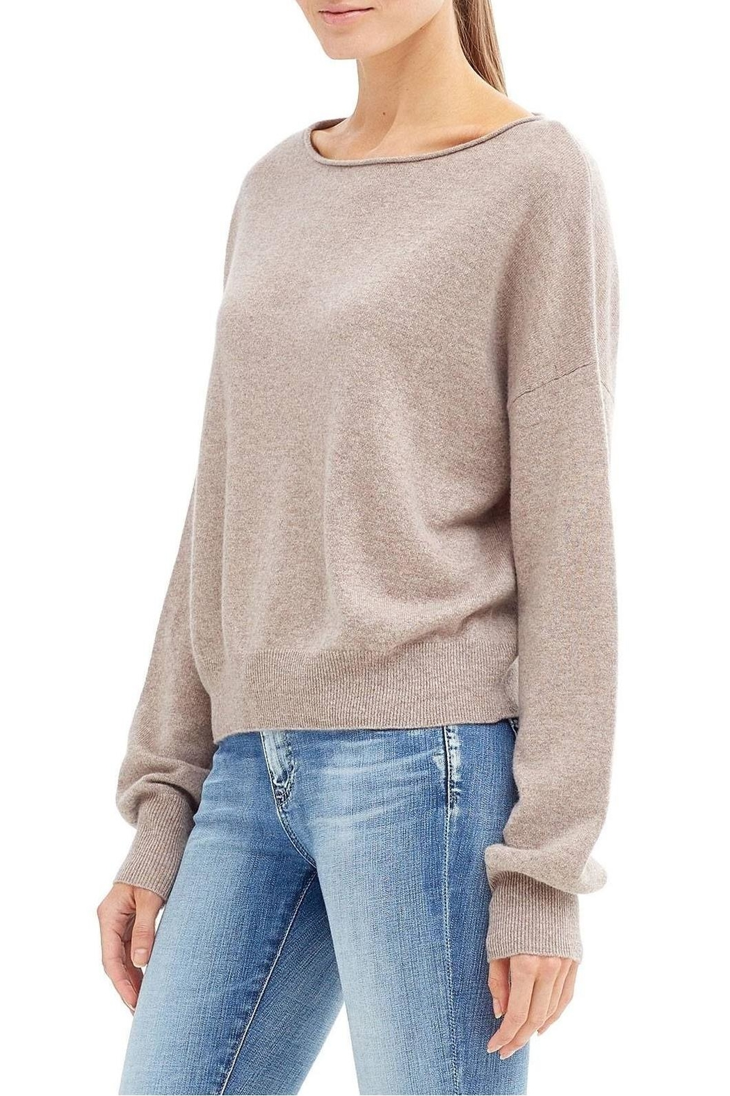 Skull Cashmere Lou Sweater - Side Cropped Image