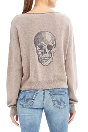Skull Cashmere Lou Sweater - Front cropped