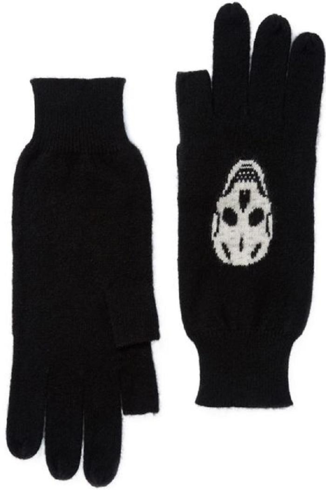 Skull Cashmere Luther Gloves - Main Image