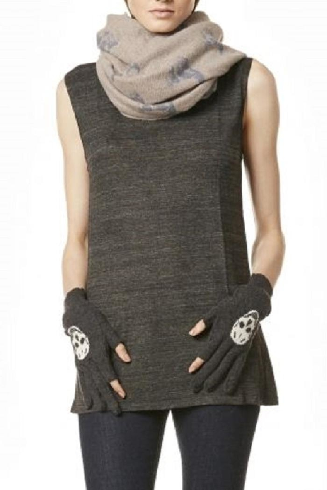 Skull Cashmere Multi Dexter Infinity - Main Image