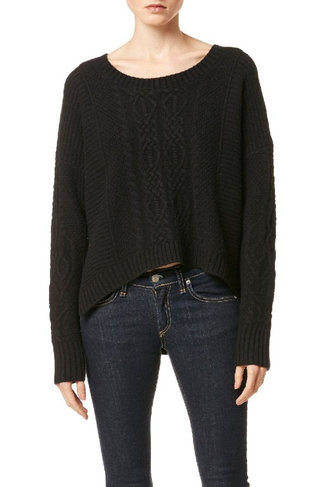 Skull Cashmere October Sweater - Front Full Image