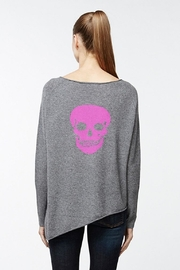 Skull Cashmere Outlaw Asymetrical Sweater - Product Mini Image