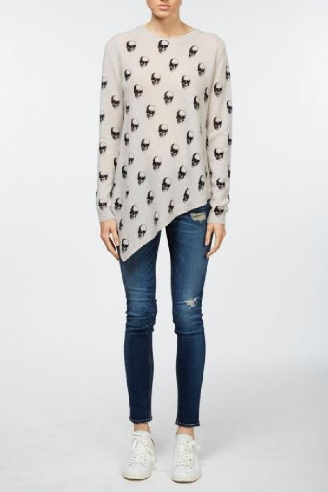 Skull Cashmere Skull Ceelo Sweater - Side Cropped Image