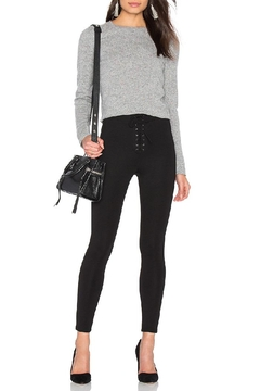 Skull Cashmere Trova Cropped Sweater - Alternate List Image