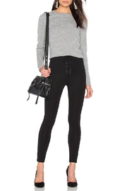 Skull Cashmere Trova Cropped Sweater - Side cropped