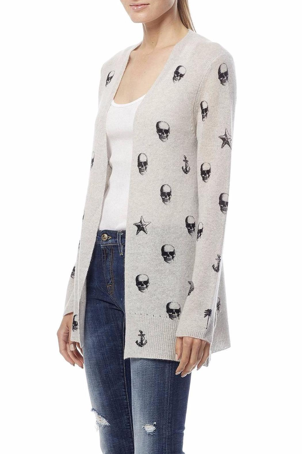 Skull Cashmere Victoria Cashmere Cardigan from Massachusetts by ...