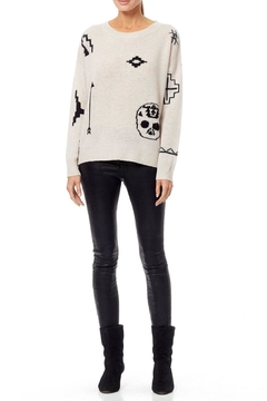 Skull Cashmere Xandra Sweater - Alternate List Image