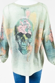 Skull Cashmere Yvette Skull Sweater - Front full body