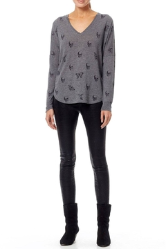Skull Cashmere Zahara Skull Sweater - Alternate List Image