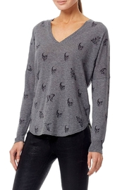 Skull Cashmere Zahara Skull Sweater - Front full body