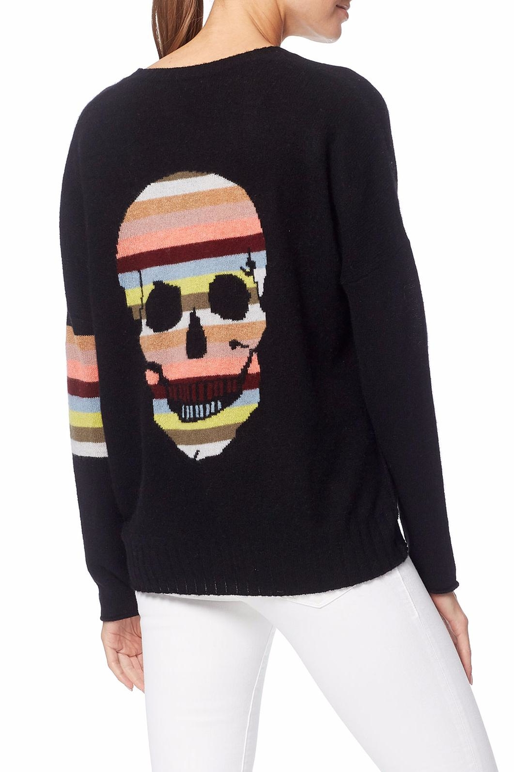 Skull Cashmere Zuli Skull Sweater - Front Cropped Image