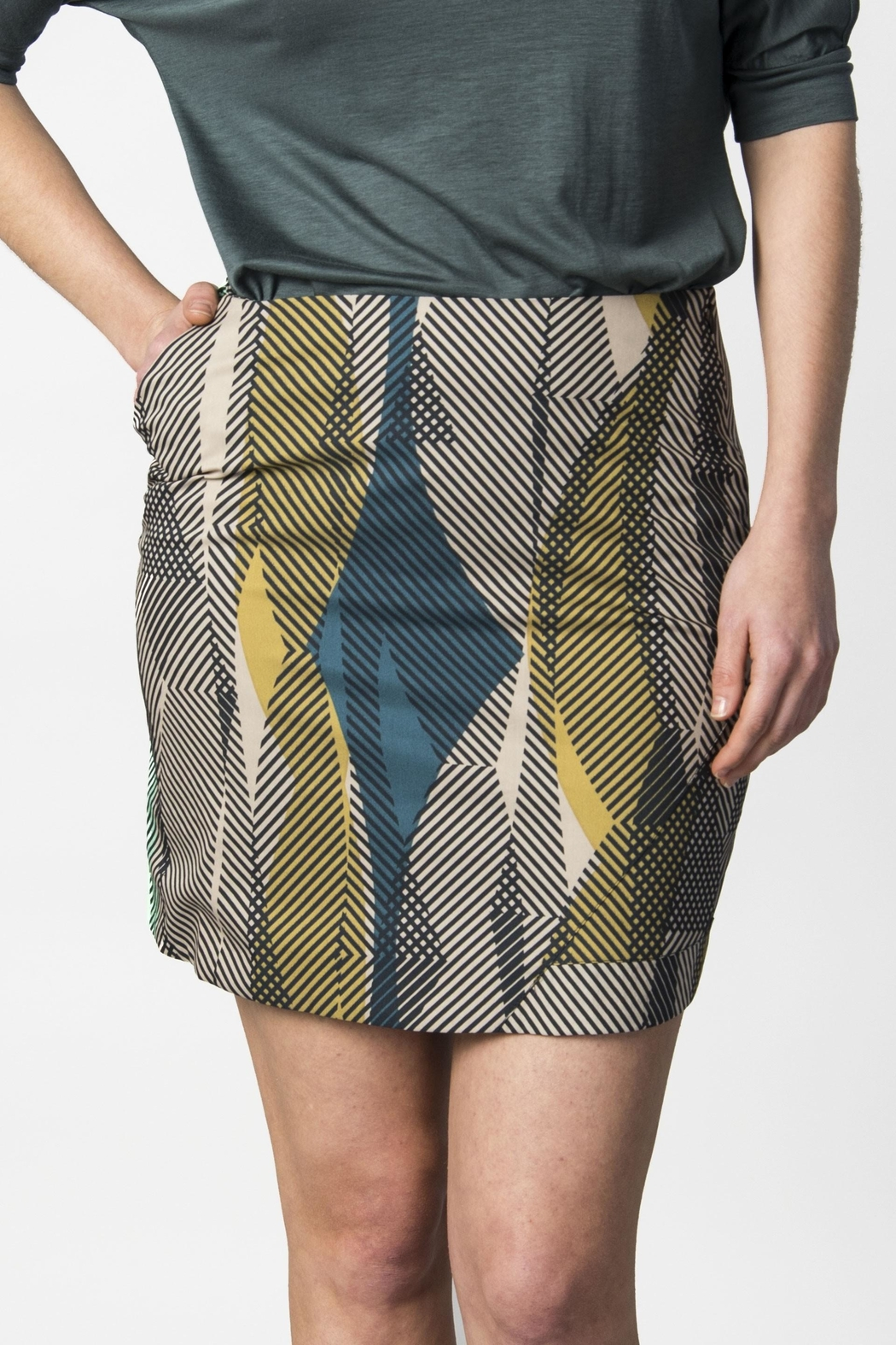 Skunkfunk A Line Patterned Skirt from Edinburgh by Just g Boutique ...