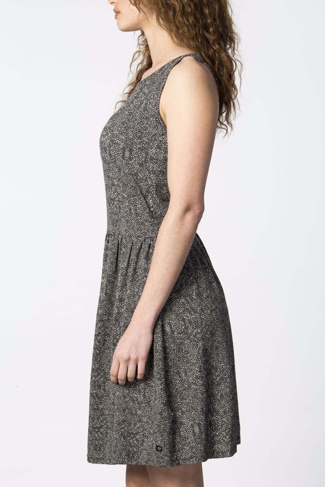 Skunkfunk Cross Back Dress - Side Cropped Image