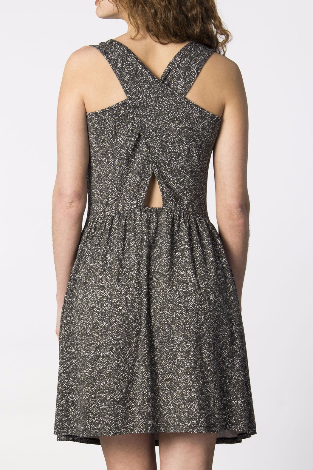 Skunkfunk Cross Back Dress - Front Full Image