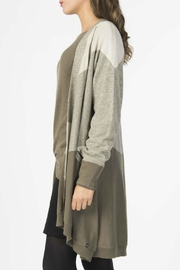 Skunkfunk Eder Knit Cardigan - Back cropped