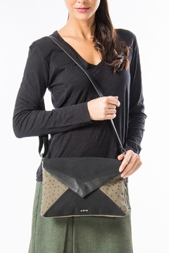 Shoptiques Product: Grey Vegan Purse