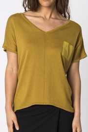 Skunkfunk Knitted Gold Top - Product Mini Image