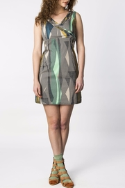 Skunkfunk Patterned Sheath Dress - Product Mini Image