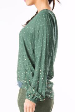 Shoptiques Product: Printed Long Sleeved Blouse