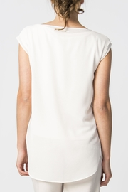 Skunkfunk White Sheer Top - Front full body