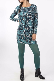 Skunkfunk Tropical Print Tunic - Front full body