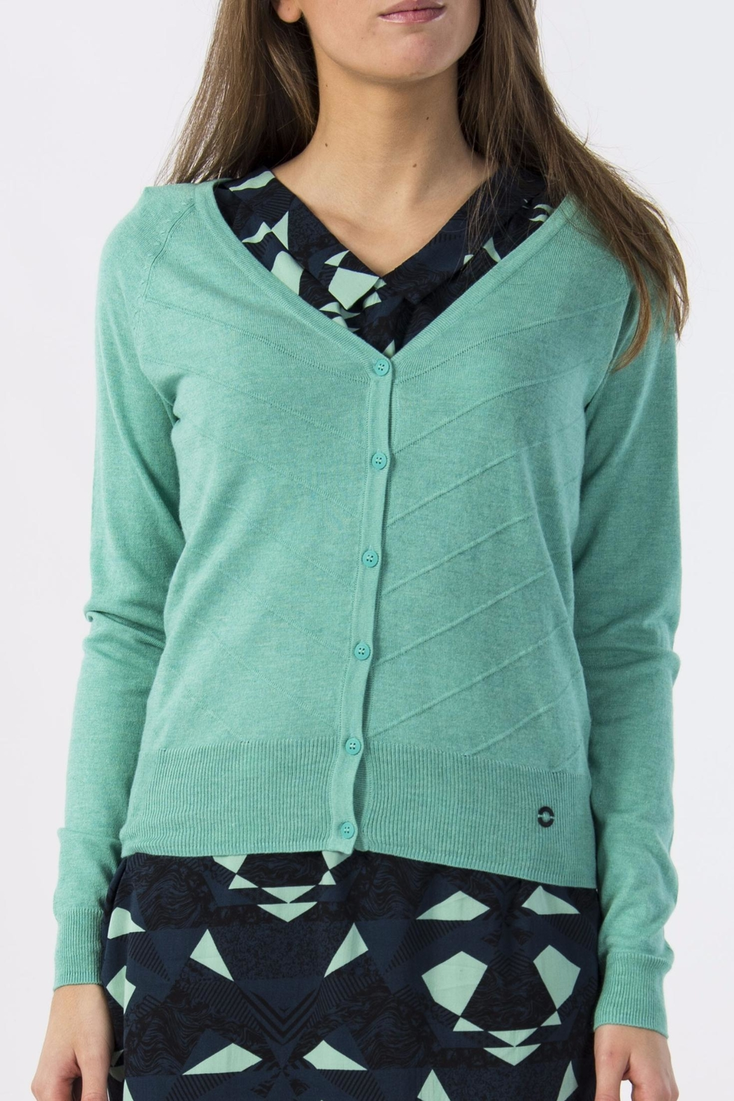 Skunkfunk Turquoise Cardigan from Edinburgh by Just g Boutique ...