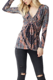 Sky Adrienn Top - Front cropped